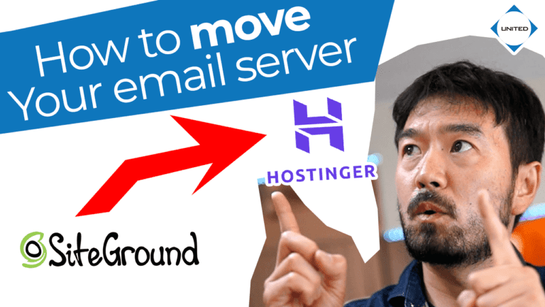 How do I move my email from one server to another?